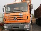 低价出售北奔重卡车况好欢迎实地看车价格满意3年2万公里7万