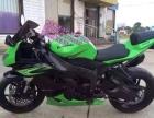 防跑车125 摩托 绿色超级漂亮