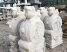 汉白玉门墩,石雕麒麟,石桌石凳,花台柱,石灯,仿古雕刻