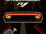 LR-R1 GIYO自行车尾灯 山地车尾灯 遥控镭射安全灯转向灯
