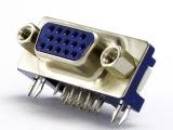 供应VGA插头 VGA插座 VGA接头 DB-15S-A 知名家