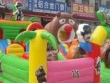 大型充气城堡大滑梯/儿童蹦床/室内外大型充气玩具城堡