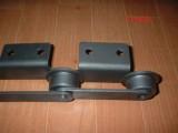 节距100链条 RF M米制 带耳朵弯板输送链条