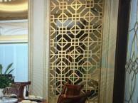 不锈钢屏风隔断镂空雕花欧式不锈钢屏风玫瑰金玄关