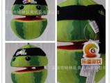 定做新款创意植物玩具 个性游戏西瓜玩偶 企业促销礼品西瓜娃娃