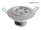 2012新款LED天花灯大功率6W天花筒灯LED天花射灯[先使用