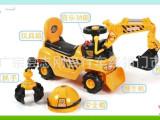新款儿童四轮车滑行车二合一大号工程车超大号可坐挖土  批发