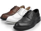 供批发真皮英伦布洛克雕花男鞋时尚韩版头层牛皮男士皮鞋低帮鞋