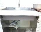 不锈钢整体橱柜,台面。