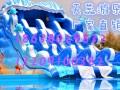 水上乐园水滑梯各种款式规格水上漂浮物支架水池充气水池夏季玩水