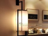 批发欧式现代布艺壁灯 客厅卧室过道灯客房灯饰创意壁灯工程灯具