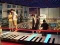脚踏地板钢琴设备出租 隐身屋科技展道具暖场出租租赁