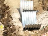 山东钢波纹涵管施工 整装钢制波纹管参数 镀锌波纹钢管