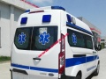 新全顺中轴中顶普通型救护车