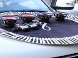 赤峰大宽汽车音响改装专卖店吉利远景X6改装汽车音响做隔音案例