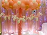 天津宝宝生日宴气球装饰