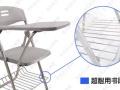 出售学生单人培训椅会议椅洽谈椅视听椅经济实惠折叠椅