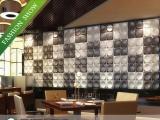供应贝斯汀平贴立体背景墙|三维板|新型立
