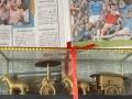 个人闲置全新中国秦陵一号二号铜车马摆件(两套)