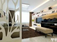 实创装饰老房装修 定慧西里86平米清新简约两居室装修案例