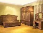 洛阳二手红木家具回收交趾黄檀沙发卧房成套老红木餐台八仙桌收购