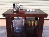 老船木茶文化家具古船木茶具陶艺茶台茶桌椅办公茶台海罗孔茶台