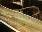 南美胡桃木零甲醛实木学习桌椅书房原木书桌学习桌椅组合书桌