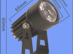 LED投射灯 大功率1W/3W瓦楞灯户外小射灯建筑物景观瓦片投光灯