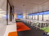 西安环境保护公司办公室装修设计案例