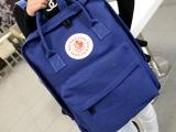 冬季新款学生电脑双肩包韩版潮男女学生休闲帆布书包旅行背包