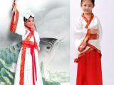 儿童古装服装演出服汉服男女国学班书生书童服三字经弟子规表演服
