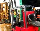 力至优 1.5吨电动叉车 日本进口三点式电瓶叉车 三支点