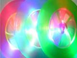 新款闪光飞碟 旋转发光飞轮 户外发光玩具地摊热卖 运动闪光飞盘