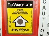 美国进口原装TILTWATCH-XRT防倾倒标签冲击指示器