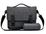 商务休闲电脑包15.6寸笔记本平板内胆毛毡手提双肩背包 厂家直销