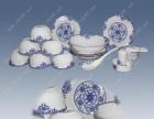青花玲瓏餐具 傳統青花玲瓏禮品 陶瓷禮品定做