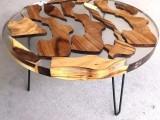 河流桌树脂胶 环氧水晶胶 艺术家具树脂胶 木材树脂工艺品