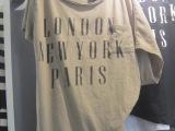 韩国正品代购 女装批发 百搭休闲字母图案短袖t恤女