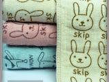 外贸 义乌创意纯棉儿童纱布毛巾双面绒超细纤维库存处理毛巾 批发