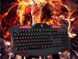 厂家直销 发光狼蛛游戏键盘同款 电脑配件代发批发加盟