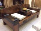 休闲茶台沉船茶艺功夫茶桌椅组合实木家具