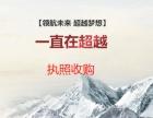 收北京满两年的小规模空壳公司 不限区域不限类型