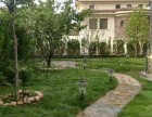昌平庭院綠化設計施工 鋪裝硬化 草坪月季樹木種植
