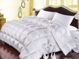 诗蕊家纺新款冬被95%白鹅绒被芯贵族羽绒被子冬厂家直批