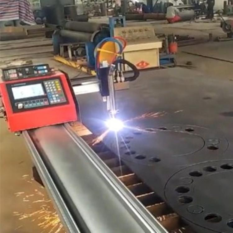 便携式数控火焰等离子切割机 全自动一体化数控切割机