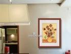 武汉光谷商务礼品定制装饰画书法国画、油画水彩、苏绣裱框安装