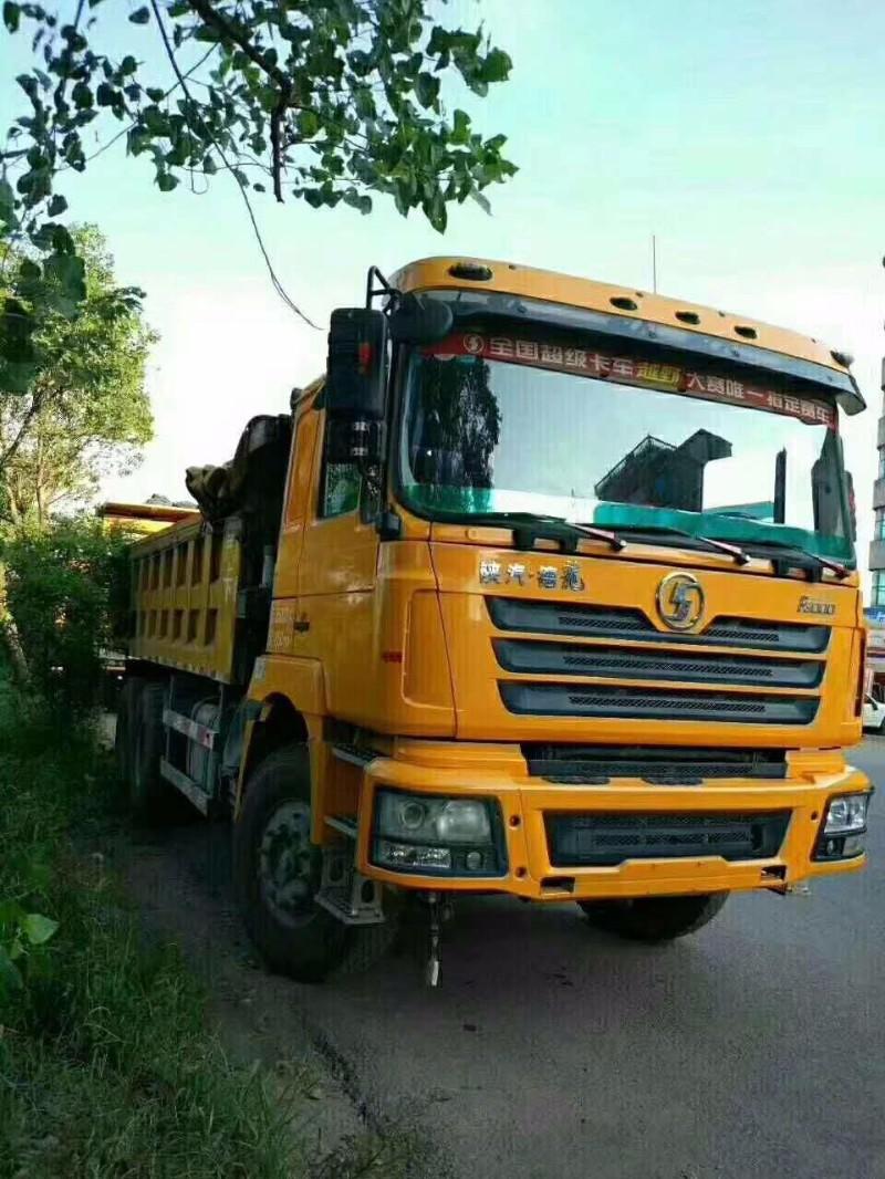 陕汽重卡德龙F3000自卸车司机自用车买到即可干活