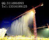 建筑工地塔吊喷淋降尘系统 塔吊高空环保除尘降温