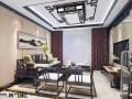 南宁三室两厅装修效果图-悦澜山新中式装修效果