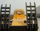 转让 平板运输车楚风前四后八凹版挖机运输车